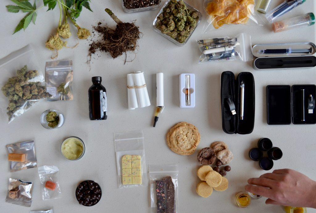 streams of cannabis waste