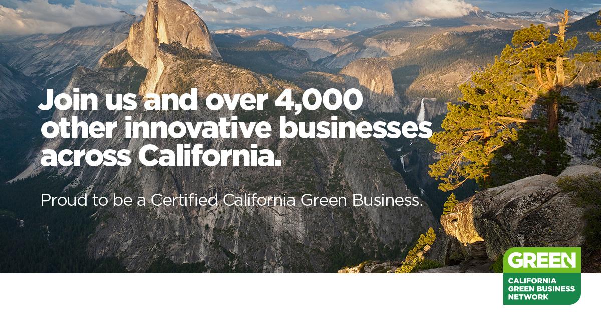 California Green Certified Business GAIACA