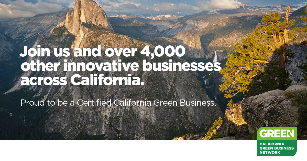 California Green Certified Business GAIACA