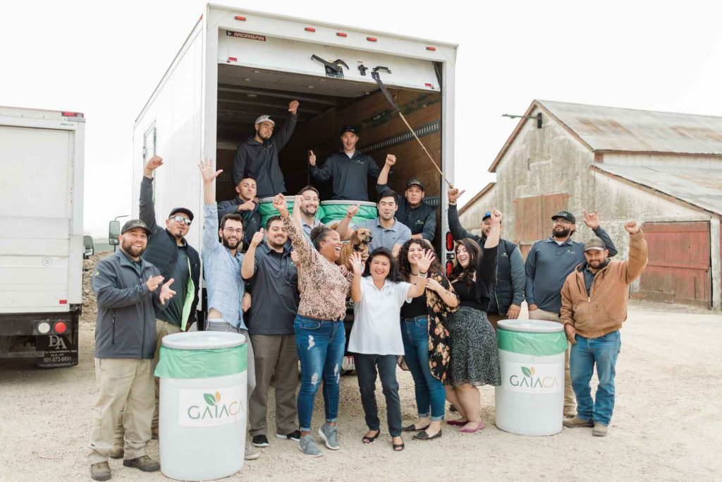 GAIACA Waste Revitalization Cannabis Waste Solutions Team
